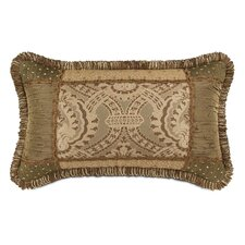 <strong>Eastern Accents</strong> Nottingham Polyester Collage Decorative Pillow with Loop Fringe