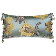 <strong>Eastern Accents</strong> Bellezza Polyester Decorative Pillow with Ball Trim
