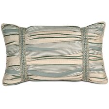 <strong>Eastern Accents</strong> Carlyle Polyester Luxembourgh Spa Ruched Decorative Pillow