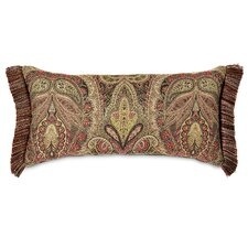 Broderick Polyester Decorative Pillow with Brush Fringe