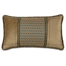 <strong>Eastern Accents</strong> Chapman Polyester Danville Sea Insert Embroidered Decorative Pillow