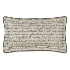 Daphne Polyester Grenoble Decorative Pillow with Self Flange