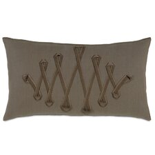 <strong>Eastern Accents</strong> Daphne Polyester Breeze Decorative Pillow with Ribbon