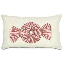 Fa La La Peppermint Twist Pillow