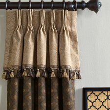 Aston Birkdale Cotton Pleated Curtain Single Panel