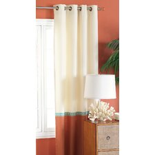 Capri Grommet Curtain Single Panel
