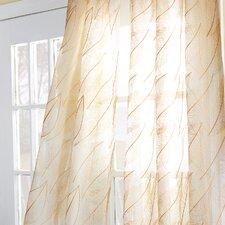 Antigua Collier Sunshine Rod Pocket Curtain Single Panel