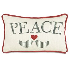 Fa La La Peace Doves Pillow