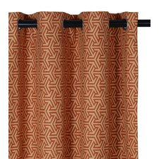 <strong>Eastern Accents</strong> Mondrian Drapery Rod Pocket Curtain Single Panel