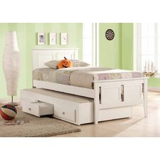 Lilly Captains Single or King Single Bed with Trundle