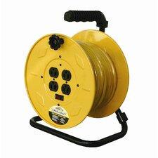 Hand Crank Triple Outlet Cord Reel