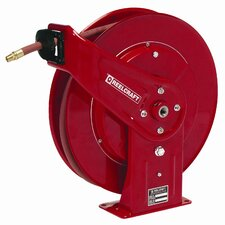 "0.5"" x 50', 2000 psi, Heavy Industrial Oil Reel with Hose"