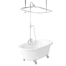 "Celine 70"" x 32"" AcraStone Double Ended Bathtub"