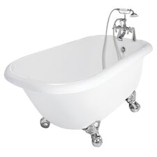"Trinity 60"" x 30"" AcraStone Traditional Bathtub"