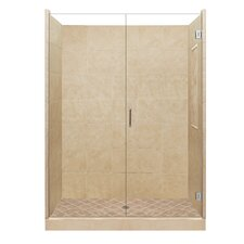 <strong>American Bath Factory</strong> Supreme Pivot Door Shower Enclosure