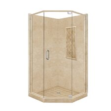 <strong>American Bath Factory</strong> Supreme Neo-Angle Door Shower Enclosure
