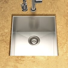 "Contempo 18"" x 17"" Zero Radius Undermount Bar Sink"