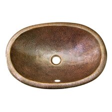 Hammerwerks Self Rimming Ellipse Bathroom Sink