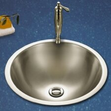 <strong>Houzer</strong> Club Double Layer Self Rimming Bathroom Vessel Sink