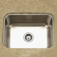 "Medallion Classic 23.19"" x 17.94"" Undermount Single Bowl Kitchen Sink"