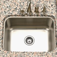 "<strong>Houzer</strong> Eston 23"" x 17.75"" Undermount Rectangular Single Bowl Kitchen Sink"