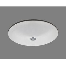 Ceramics Doreen Undermount Bathroom Sink with Overflow