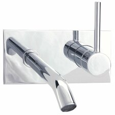 <strong>Cifial</strong> Techno Wall Mounted Bathroom Sink Faucet with Single Handle