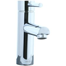 Techno Single Hole Bathroom Sink Faucet with Single Handle