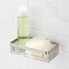 "Hotelier 8"" Deep Toiletry Basket in Polished Chrome"
