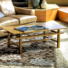 Lotus Coffee Bamboo Table
