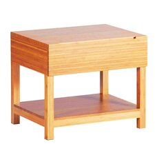 Orchid Bamboo Nightstand