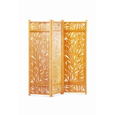 "79"" x 77.5"" Lily Screen 3 Panel Room Divider"
