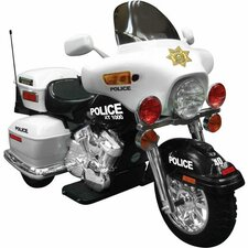 NPL Patrol 12V Battery Powered Police Motorcycle