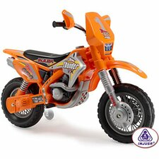 <strong>Big Toys</strong> Motocross Thunder Max VX 12V Battery Powered Motorcycle