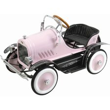 Kalee Deluxe Roadster Pedal Car in Pink