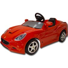 Toys Toys Ferrari California Pedal Car in Red