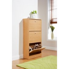 Oakdale 3 Drawer Shoe Rack