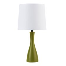"Oscar Boudoir 18"" Table Lamp with Empire Shade"