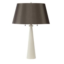 "Nikki Small 24"" Table Lamp with Empire Shade"