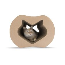 Mini Cardboard Scratching Post