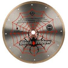 "10"" Black Widow Diamond Blade - Wet"
