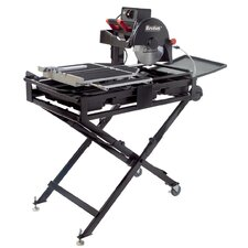 "9.5 Amp 1.5 HP 120 V 10"" Blade Capacity Professional Tile Saw"