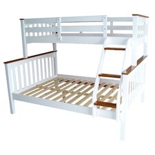 Sarah Timber Bunk Bed – Double / Single