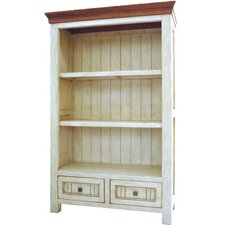 Town and Country Small Bookcase in Latte / Espresso