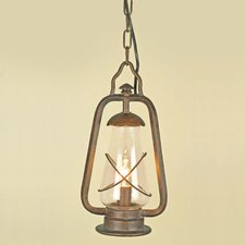 Miners 1 Light Hanging Lantern