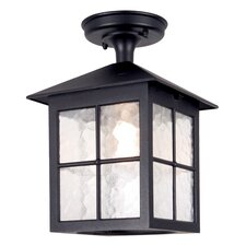 Winchester 1 Light Flush Lantern