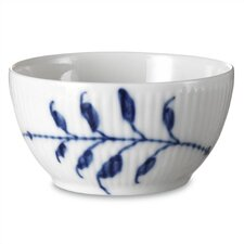 Blue Fluted Mega 3.75 oz. Sugar Bowl