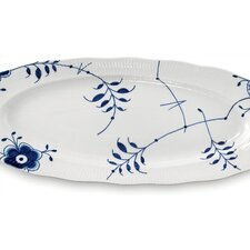 "<strong>Royal Copenhagen</strong> Blue Fluted Mega 23.5"" Oval Platter"
