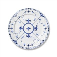 "Blue Fluted Half Lace 7.5"" Salad / Dessert Plate"