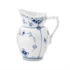<strong>Royal Copenhagen</strong> Blue Fluted Half Lace 5.75 oz. Creamer